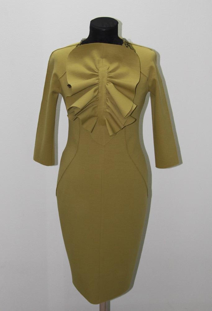 Платье из костюмной ткани сшить своими руками 77